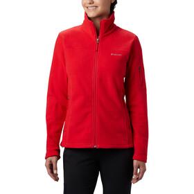 Columbia Fast Trek II Jacket Women red lily